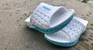Running   Kit Test   HOKA One One Recovery Slides