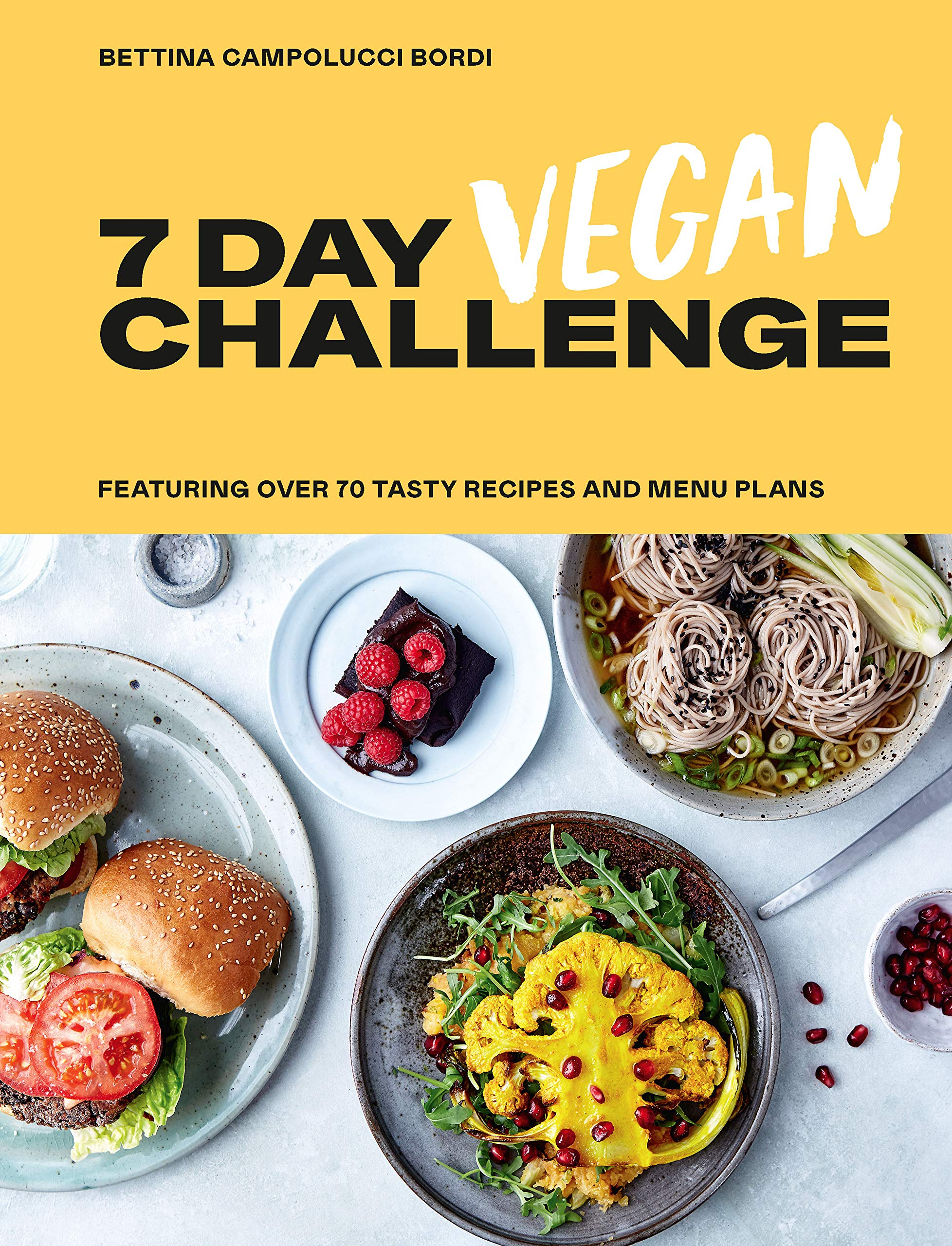 7 Day Vegan Challenge Book Cover