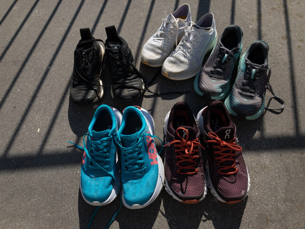 Running Injuries can be prevented by wearing the right running shoe for the right running session