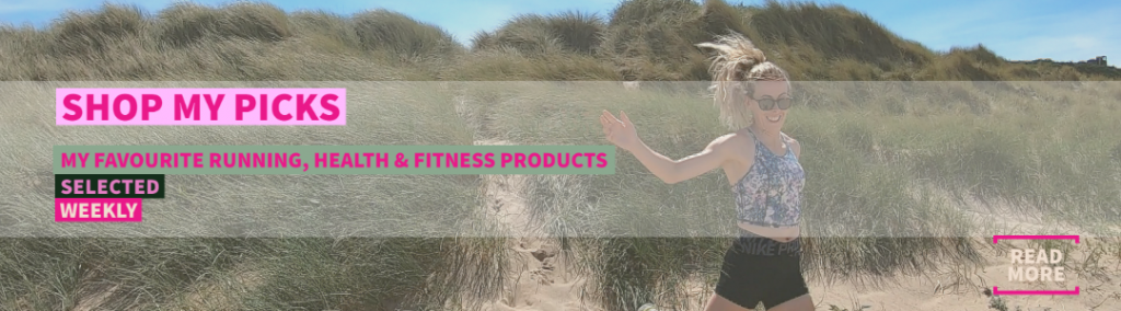 Shop my Pick my favourite running products selected weekly