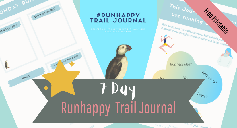Free Runhappy Printable journal