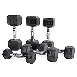 At Home Workout dumbell set