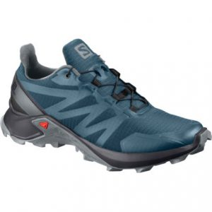 Best Trail Running Gear - Salomon-Women-s-Supercross-Shoes-Trail-Shoes-Mallard-Blue-Black-SS20-L409306004