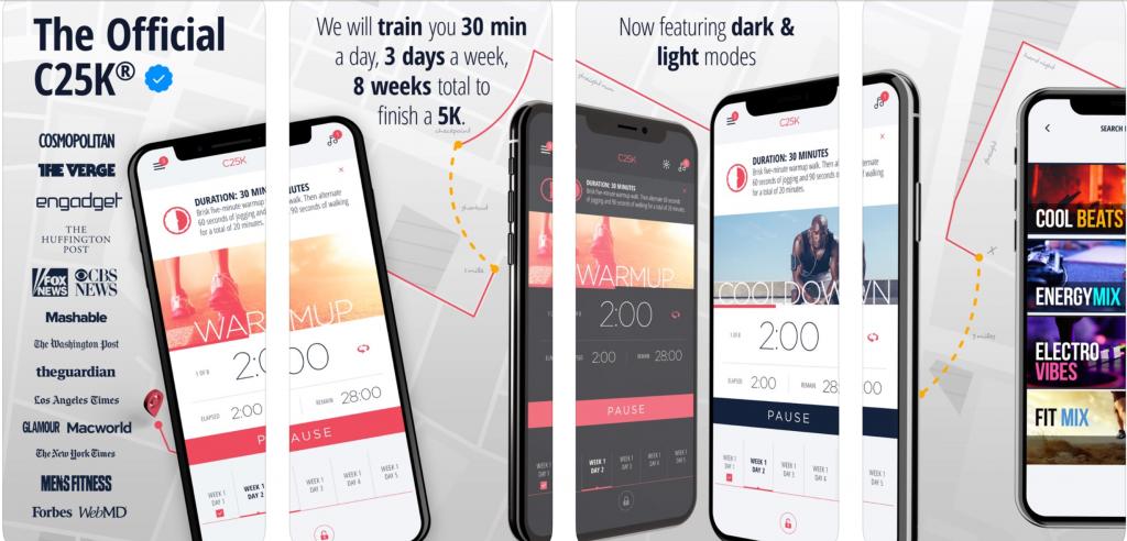 Lose weight Running - C25KM - apple app